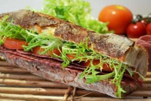BBLT Traditional Baguette Sandwich