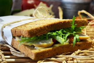 Roasted Chicken Bloomer Sandwich