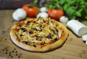 Pizza Chicken and Mushroom